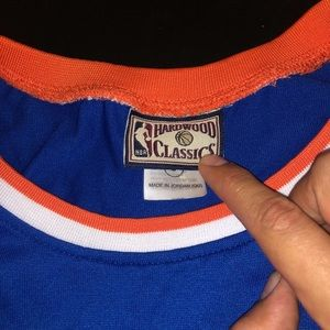 7f36c0b3 Mitchell & Ness Shirts - NBA New York Knicks Mitchell & Ness Walt Frazier